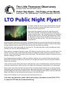 LTO Monthly Flyer thumbnail